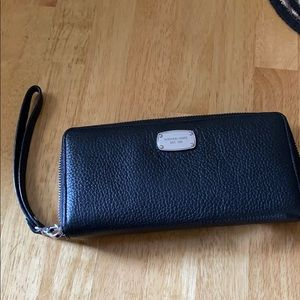 Authentic Michael Kors Black Wristlet